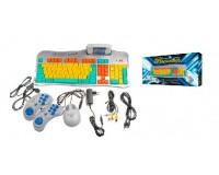 Приставка 8-bit Mагистр Репетитор два джойстика, мышь, обучающий картридж, сетевой адаптер, AV кабель, антенный кабель