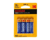 Батарейка Kodak LR6 BL 4 Max