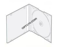 Футляр для 1CD прозрачный Slim