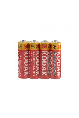 Батарейка Kodak R6 Shrink 4 HEAVY DUTY