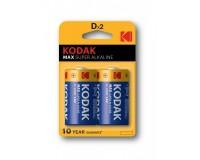 Батарейка Kodak LR20 BL 2 MAX