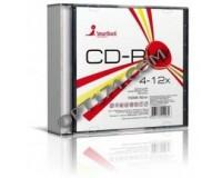 Диск SmartTrack CD-RW 80 12x Slim/5