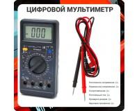 Мультиметр M890D цифровой, прозвон, питание 9V (6F22)