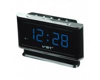 Часы сетевые VST 721-5 синие цифры