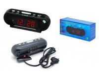Часы сетевые VST 716-1 красные цифры
