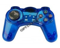Геймпад PC DVTech JS19 Shock Gear синий, блистер