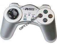 Геймпад PC DVTech JS19 Shock Gear серебро, блистер