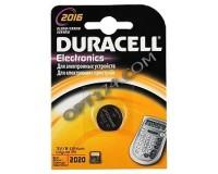 Батарейка. Duracell CR 2016 BL 1