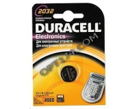 Батарейка. Duracell CR 2032 BL 1