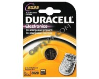 Батарейка. Duracell CR 2025 BL 1