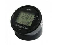 Часы VST 7053T календарь, будильник, говорящие, 75 х 70 мм, 2*АА