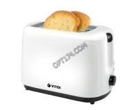 Тостер Vitek VT- 1578 750 Вт, подогрев, разморозка, выбор степени обжарки