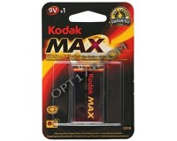 Батарейка Kodak 6LR61 (6F22) BL 1 Max