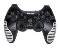 Геймпад PC DVTech JS82 Shock Air аналоговый, чёрный, с охлаждением рук