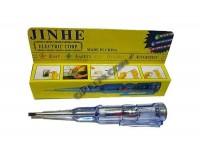 Отвертка индикаторная шлицевая длина жала:70мм JinHe MS-18 (41463)
