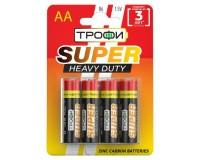 Батарейка Трофи R6 BL 4