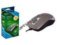 Мышь Defender Orion 300 USB Optical (1000dpi) серая, 2 кнопки+колесо-кнопка, коробка (52817)