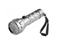 Фонарь Космос M3721-E-LED 21 светодиод, 3xR3, металлический, батарейки в комплекте