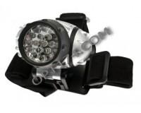 Фонарь налобный Космос H19-LED 19 светодиодов, 3хR3, батарейки в комплекте