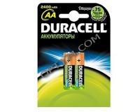 Аккумулятор Duracell R6 2450 mAh BL 2