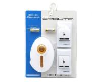 Звонок электрический беспроводной Аккорд ZD5620 80 м 24 мелодий 2 кнопки