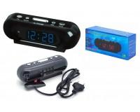 Часы сетевые VST 716-5 синие цифры