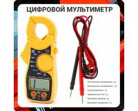 Мультиметр OT-INM34 (MT-87) цифровой, клещи, прозвон, питание 3V (2хR03)