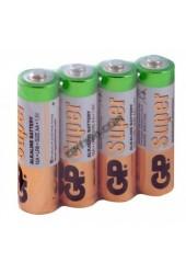 Батарейка GP LR6 Shrink 4 Super