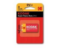 Батарейка Kodak 6F22 BL 1 Heavy Duty