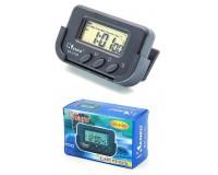 Часы автомобильные Kenko 613D с будильником