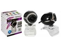 Web Camera Defender C-090 0.3МПикс с микрофоном, Black (63090)
