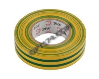 Изолента Эра ПВХ 19мм* 20м желто-зеленая