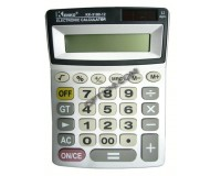 Калькулятор Kenko 3180-12 настольный, 12 разрядный, размер 13х19 см, цветные