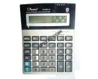 Калькулятор Kenko 8875-12 настольный, 12 разрядный, размер 14х18 см, серебристый