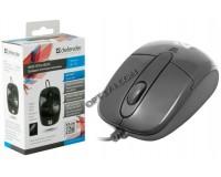 Мышь Defender Optimum MS-130 USB Optical (800dpi) черная, 2 кнопки+колесо-кнопка, mini, коробка