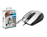 Мышь Defender Optimum MM-140 USB Optical (800dpi) серая, 2 кнопки+кнопка-колесо, коробка (52140)