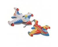 Плот-игрушка Intex 56539 Ракета, с брызгалкой, 147х127 см, 2 вида, 3+
