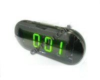 Часы сетевые VST 717-2 зеленые цифры, без блока питания