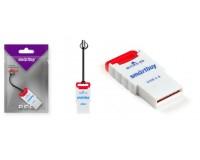 Card Reader SmartBuy SBR-707-R microSD внешний Red