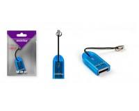 Card Reader SmartBuy SBR-710-B microSD внешний Blue