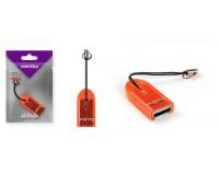 Card Reader SmartBuy SBR-710-O micro SD внешний Orange