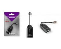 Card Reader SmartBuy SBR-710-K microSD внешний Black
