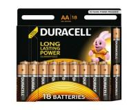 Батарейка Duracell LR6 BL 18 Basic