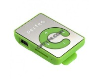 Плеер Perfeo VI-M003 Music Clip Color MP3 Green , microSD до 32 Gb, наушники, USB кабель