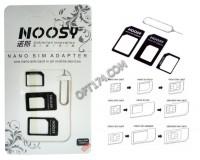 Адаптер переходник для SIM-карт Орбита SD-022 в наборе Nano, Micro