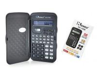 Калькулятор Kenko KK-105B настольный, инженерный, 12 разрядный, размер 7х13 см, коричневый