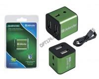 Концентратор USB (HUB) Defender Quadro Iron 4 порта, металлический корпус (83506)