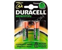 Аккумулятор Duracell R6 1300 mAh BL 2