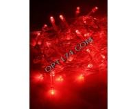Гирлянда Космос KOC_GIR80LED_R 80 светодиодов красный, 8, 8 м. 4 Вт., 8 режимов мигания