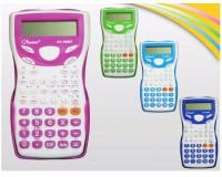 Калькулятор Kenko 88MS настольный, инженерный, 12 разрядный, размер 7х16 см, розовый